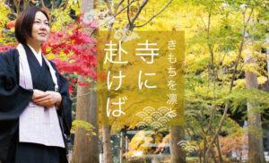 【特集】きもちを凛と 寺に赴けば vol.1
